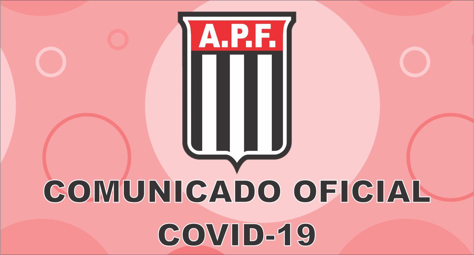 Comunicado Oficial (Covid-19) Atualização 8